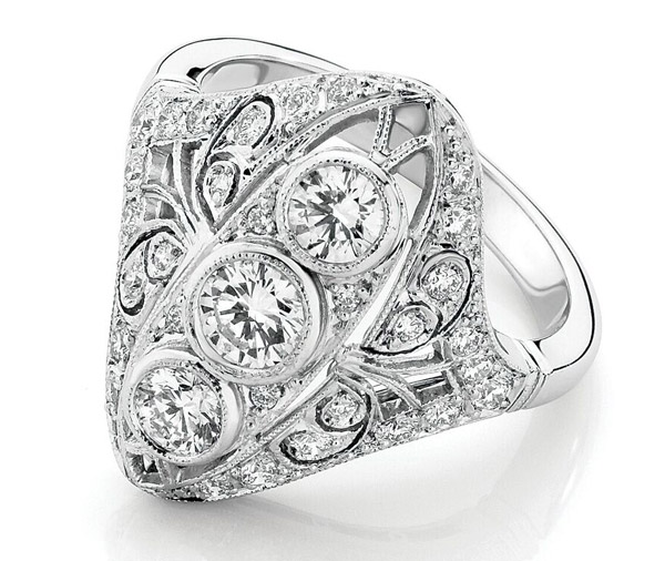 Harriette Ring diamond dress ring