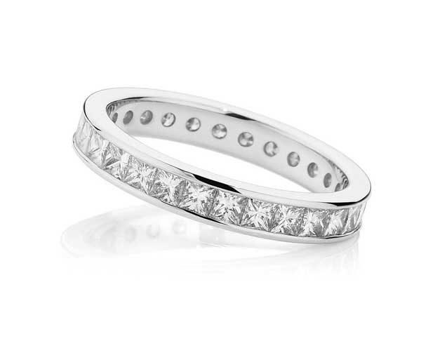 Eternity Dreams cut diamond wedding band