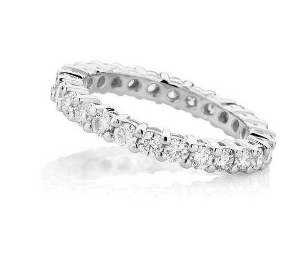 Eternity Gallery Full circle gallery style diamond band