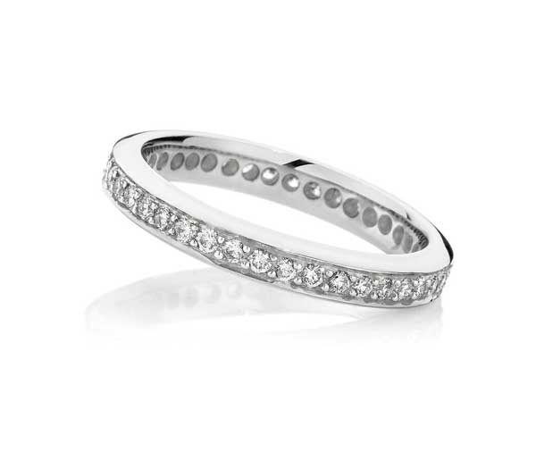 Eternity Glory diamond wedding band