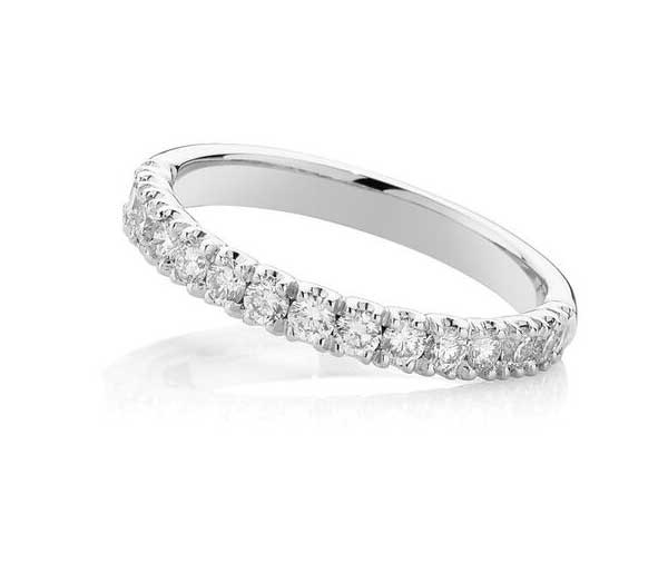 Forever Debonair diamond wedding band