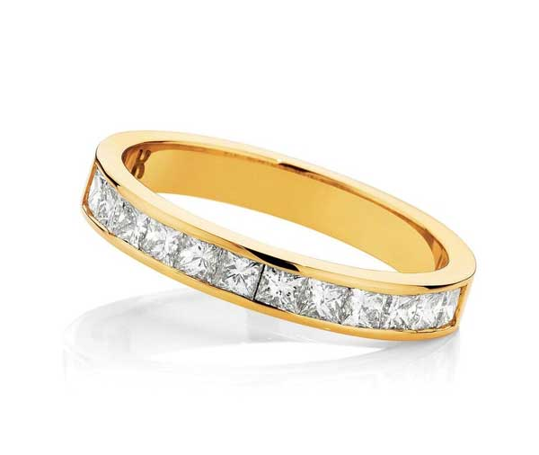 Forever Golden Dreams Diamond Wedding Band