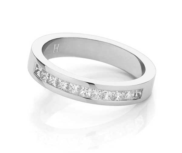 Forever Princess Power diamond 1/3 wedding band