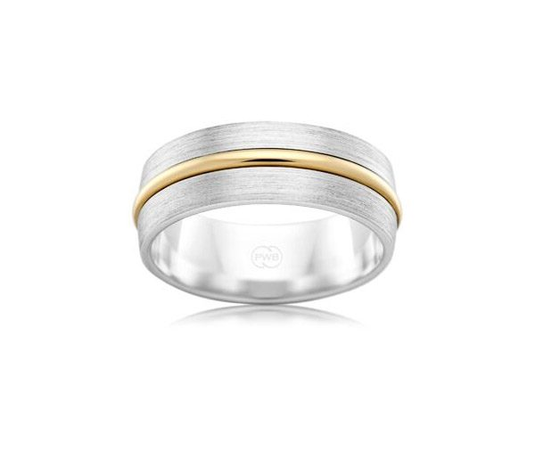 Urban 2TJ3504 mens wedding ring bespoke jewellery