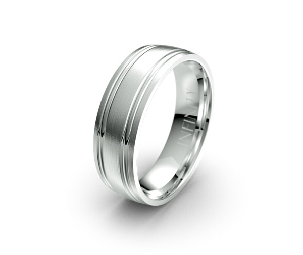 Debonair 1344 mens wedding ring designer jewellery