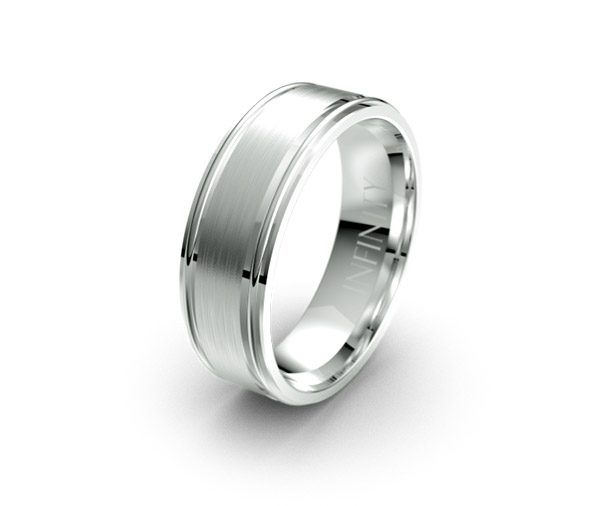 Debonair 1345 mens wedding ring australia