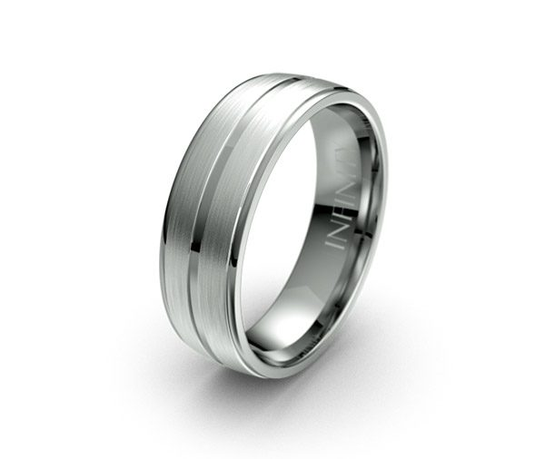 Debonair 1389 mens wedding ring australia