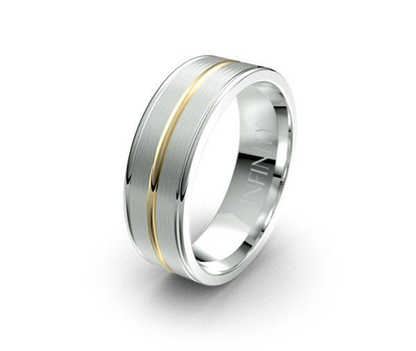 Debonair 1418 mens wedding rings australia