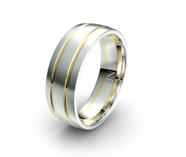 Debonair 1160 Mens Wedding Ring