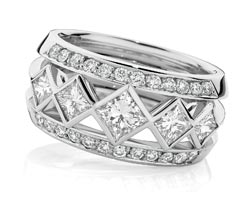 princess diamond dress ring designer engagement rings Sydney