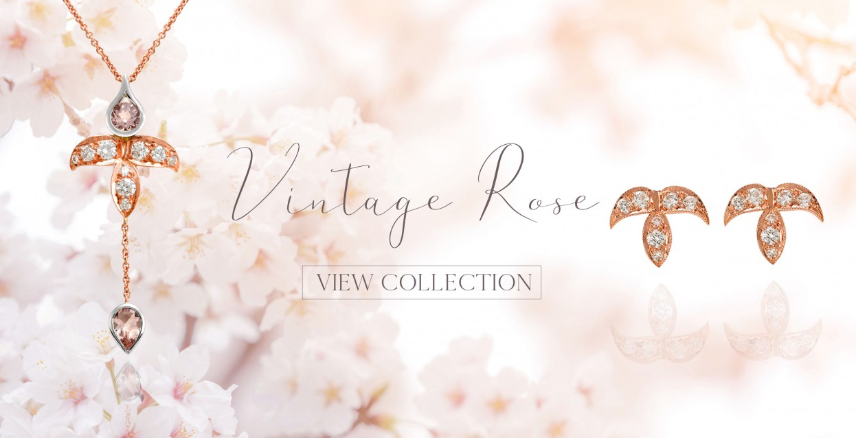 Vintage Rose Designer Jewellery Collection