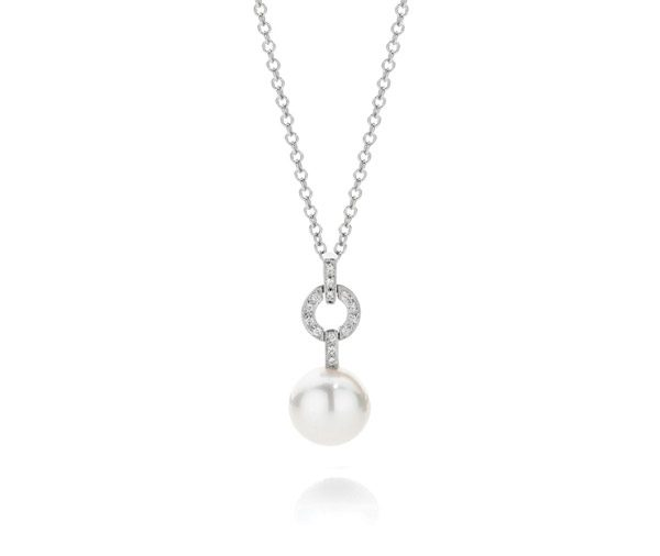Drop In The Ocean pearl drop pendant