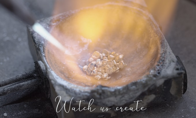 watch us create jewellery